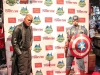 Madame Tussauds statues of Captain America and Nick Fury