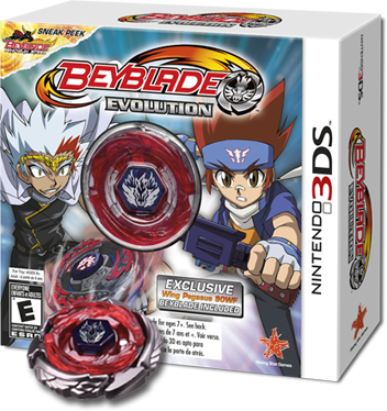 Beyblade Evolution For Nintendo 3ds Spins Onto Retail