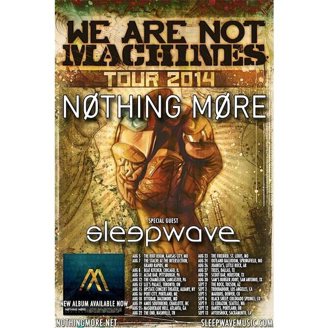 Sleepwave Tour