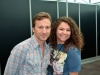 Tory with Breckin Meyer