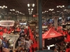 Panorama of part of the show floor
